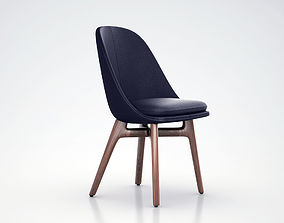 NERI HU 750 Solo Dining Chair 3D