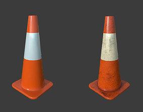 Traffic Cone 1 3D asset