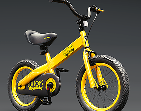Cubetube Buttons BMX Bicycle Bike by Royal Baby 3D model
