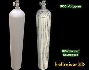 Oxygen Tank 3D asset
