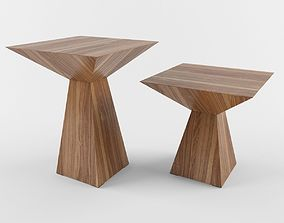 coffe table theo cattelan italia 3D model