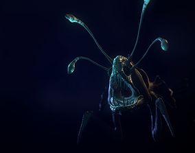 Sea Creature - Alien Game Model 3D asset
