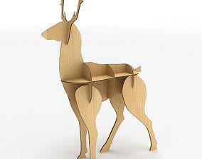 3D model Deer Cardboard