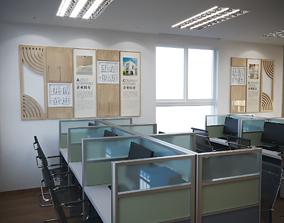 Teachers offices 3D chairs