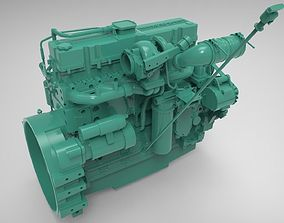 3D Engine Cummins 6 LTA