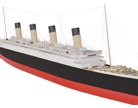 RMS Olympic 3D model