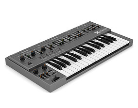 Keyboard Synthesizer 3D