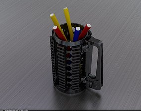 3D printable model Rifle pen holder cup gun