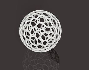 Voronoi style globe or sphere primitive for 3D printing