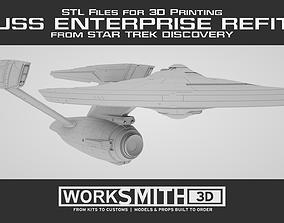 Star Trek Discovery - USS Enterprise Refit STLs for 3D