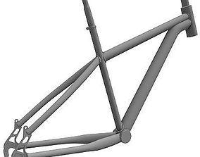 3D model Detailed Bike Frame 2