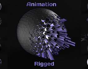 Techno Animation 3D model
