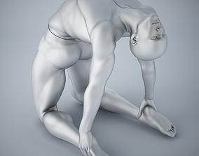 3D printable model Man yoga 018