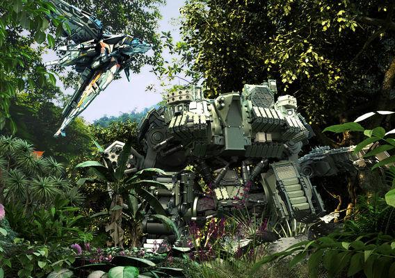 Pepare the jungle concrete War