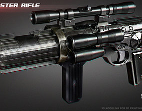 3D print model EE-4 blaster rifle
