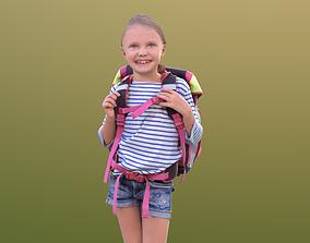 Lilly 10290 - Walking School Girl 3D model