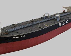 3D model cargo-container Oil Tanker