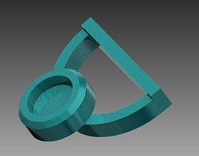 Kitchen Paper Roll Holder 3D print model