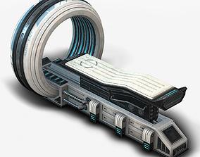 Sci Fi MRI low poly 3D model