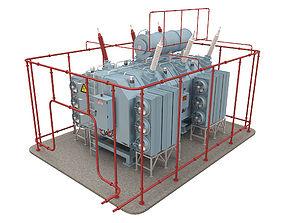 Electrical Transformer 5 3D