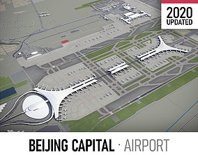 3D asset Beijing Capital International Airport - PEK