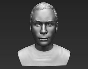 Sheldon Big Bang Theory bust 3D printing ready stl obj 1