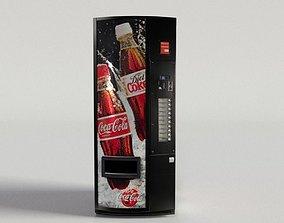 Coca Cola Vending Machine 3 3D model