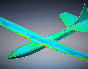 3D print model UAV - Unmanned Aerial Vehicle
