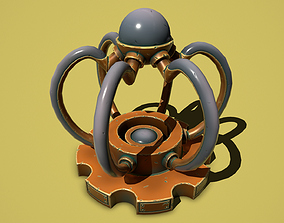 3D asset Bronze light generator