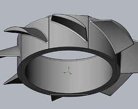 drone 3D-Printable High Speed Ducted Fan Drone Rotor