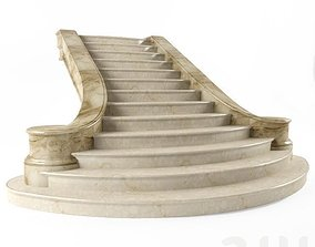 3D stair spiral-staircase