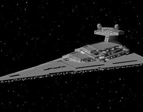 Star Wars victory class 2 star destroyer 3D asset