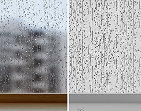 3D Water drops