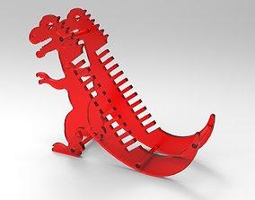 dinosaur cd holder 3D