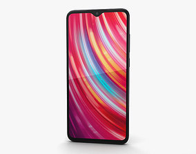 3D model Xiaomi Redmi Note 8 Pro Black