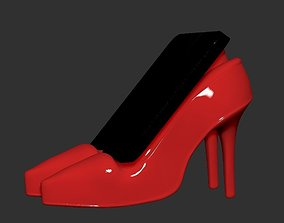 3D printable model Women Shoes Phone or Tablet Holder