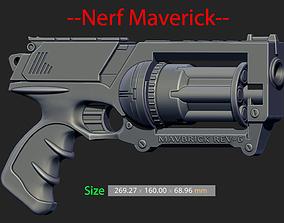 Nerf Maverick For Cosplay 3D print model