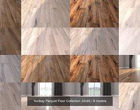 Yurtbay Parquet Floor Collection 22x85 3D