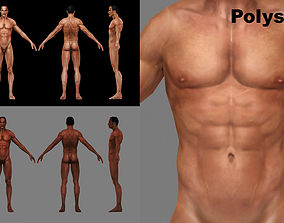 Base Mesh Male 3D model