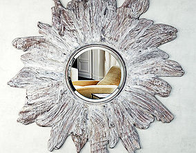 Floris Whitewashed Mirror by Made Goods 3D model