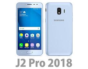 Samsung Galaxy J2 Pro 2018 Blue 3D model