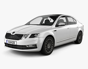 3D model Skoda Octavia CN-spec liftback 2018