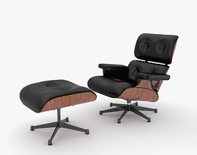 Eames Lounge Chair 3D