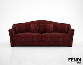 Fendi Casa Faubourg Sofa 3D