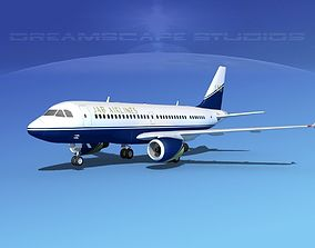 Airbus A319 JAB Airlines 3D