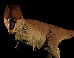 Tirannosaurus rex 3D model animated