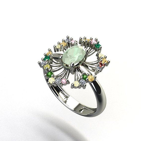Ring spring flowers