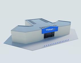 3D model Walmart Supercentre