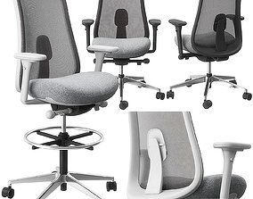 3D Lino chair and stool by Herman Miller