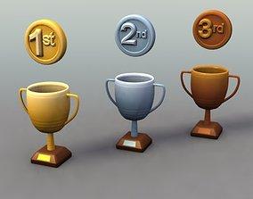 3D model Sports Trophies